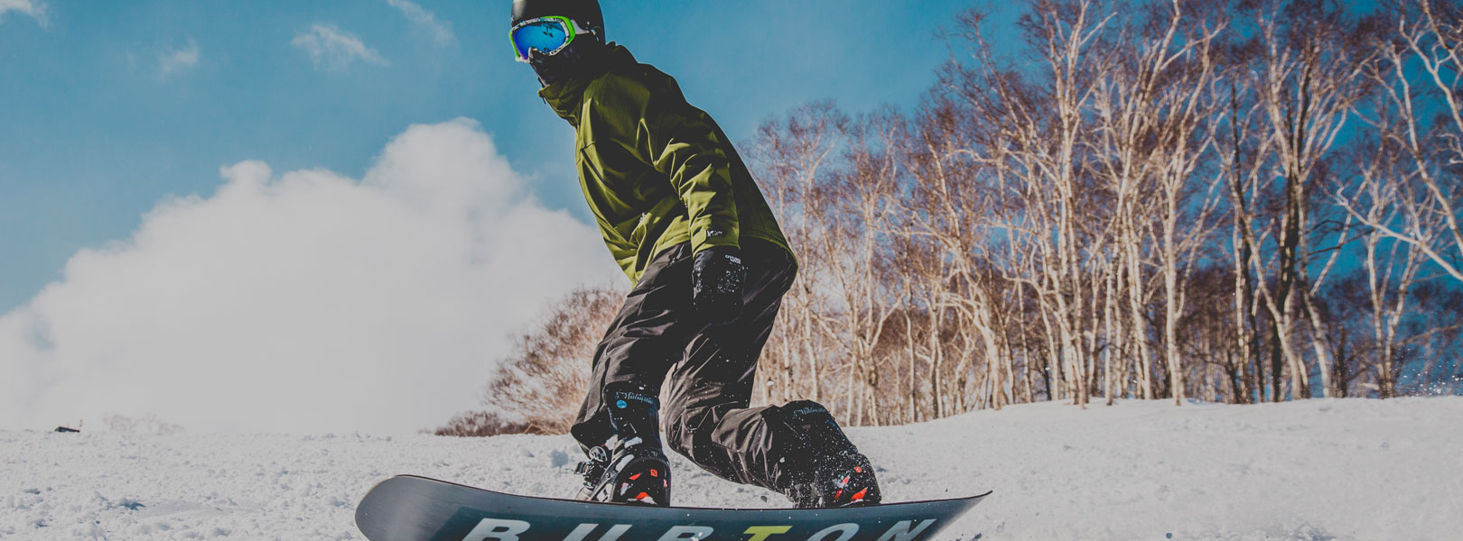 自社オリジナルのスノーボードウェア43DEGREES