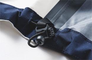 裾内側に備えられたドローコード