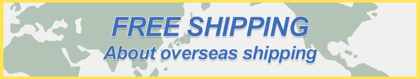 海外発送について - About Overseas Shipping -