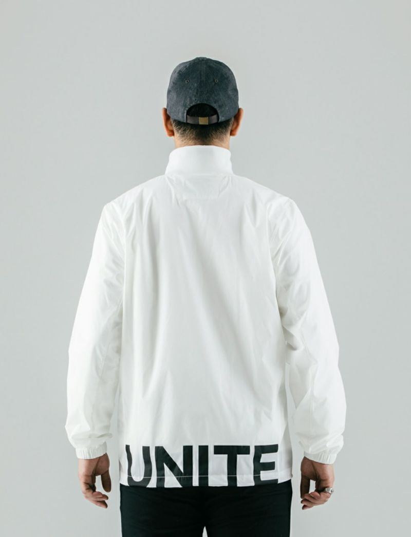 unitement ウィンドブロックジャケット Navy