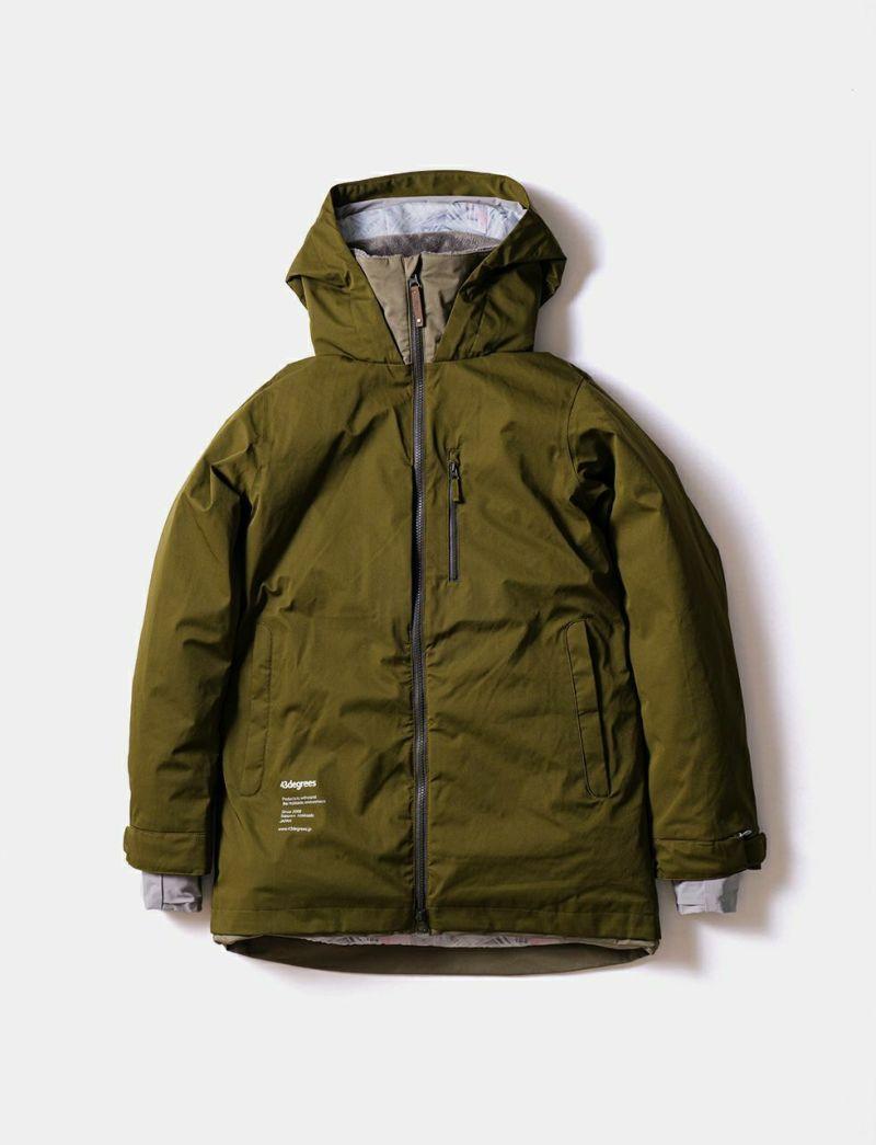 Straight Zip Jacket スノーボードウェア ストレートジップジャケット