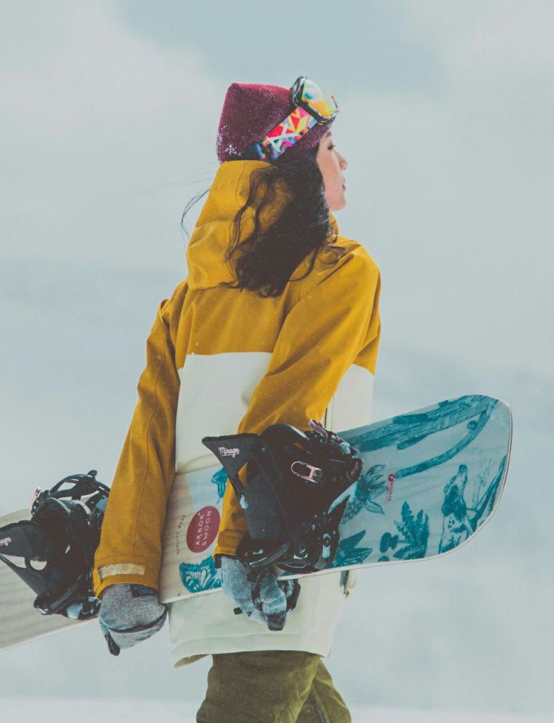 Bicolor Jacket スノーボードウェア バイカラージャケット