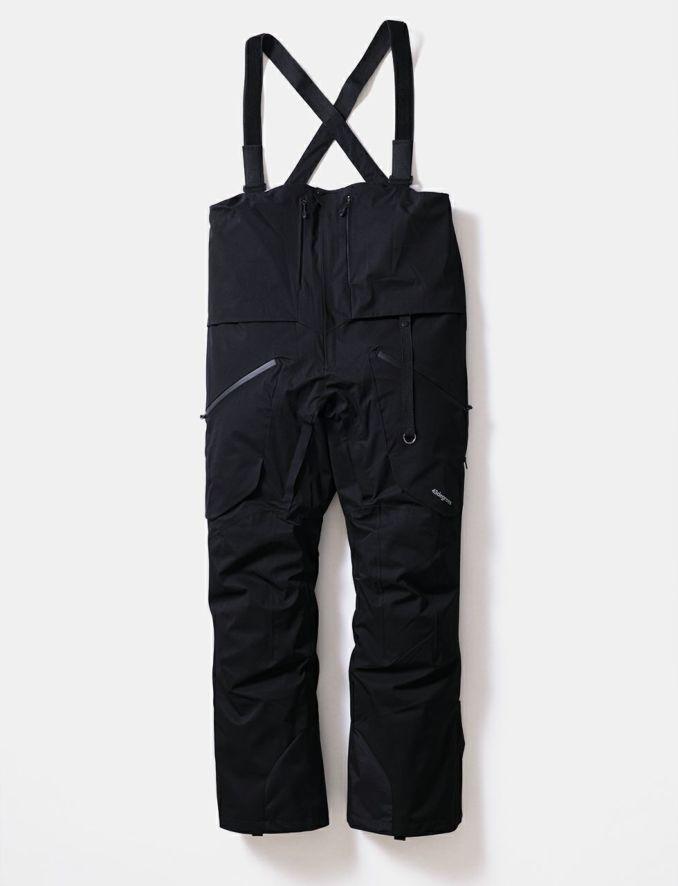 2020-21モデル Hang Pants スノーボードウェア ハングパンツ ビブパンツ ブラック