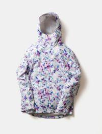 2020-21モデル レディース スノーボードウェア Long Tail Print Jacket DJK