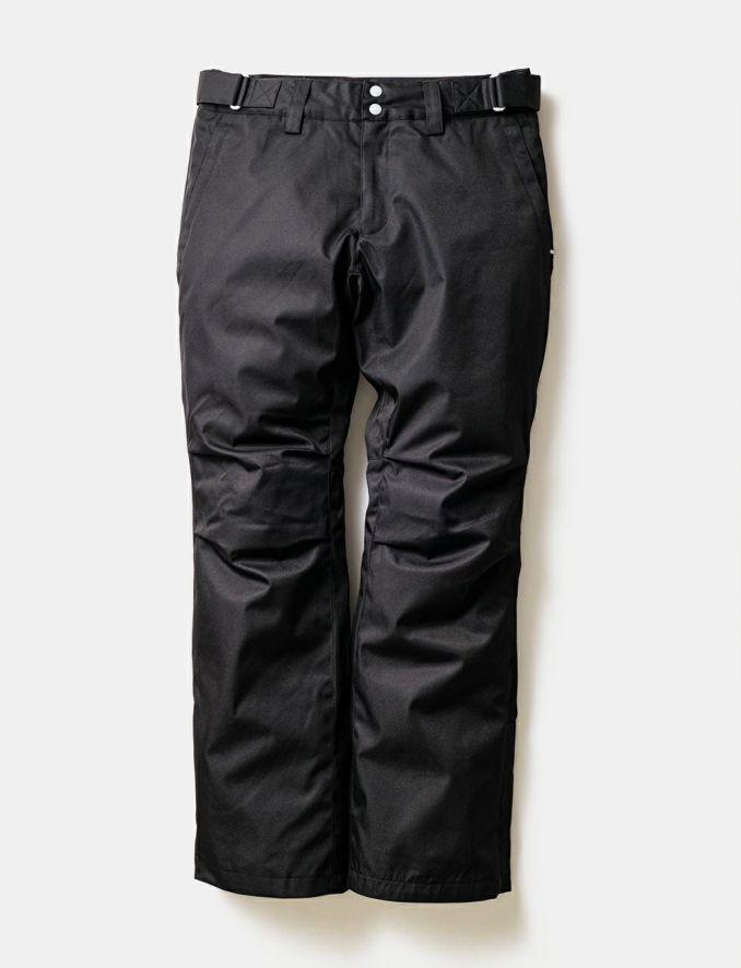 2020-21モデル レディース スノーボードウェア Solid Straight Pants Black