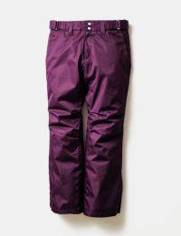 2020-21モデル レディース スノーボードウェア Solid Straight Pants Purple