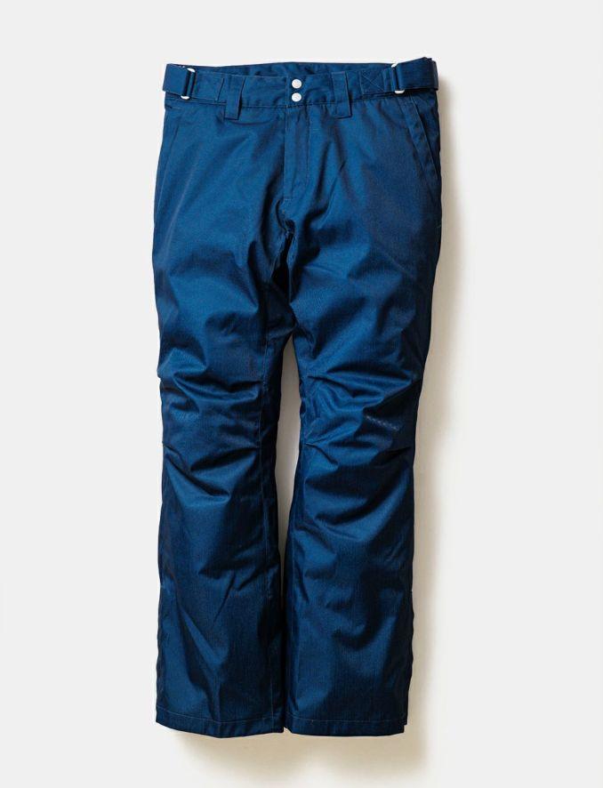 2020-21モデル レディース スノーボードウェア Solid Straight Pants Denim Like