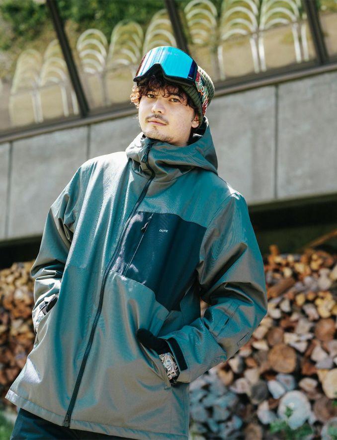 Cutting Breast Jacket スノーボードウェア メンズ ジャケット