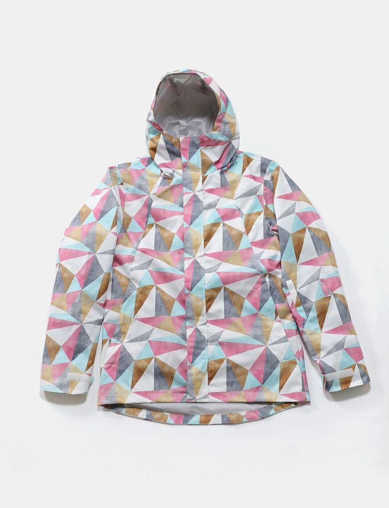 2019-20モデル Long Tail Print Jacket スノーボードウェア レディース ジャケット