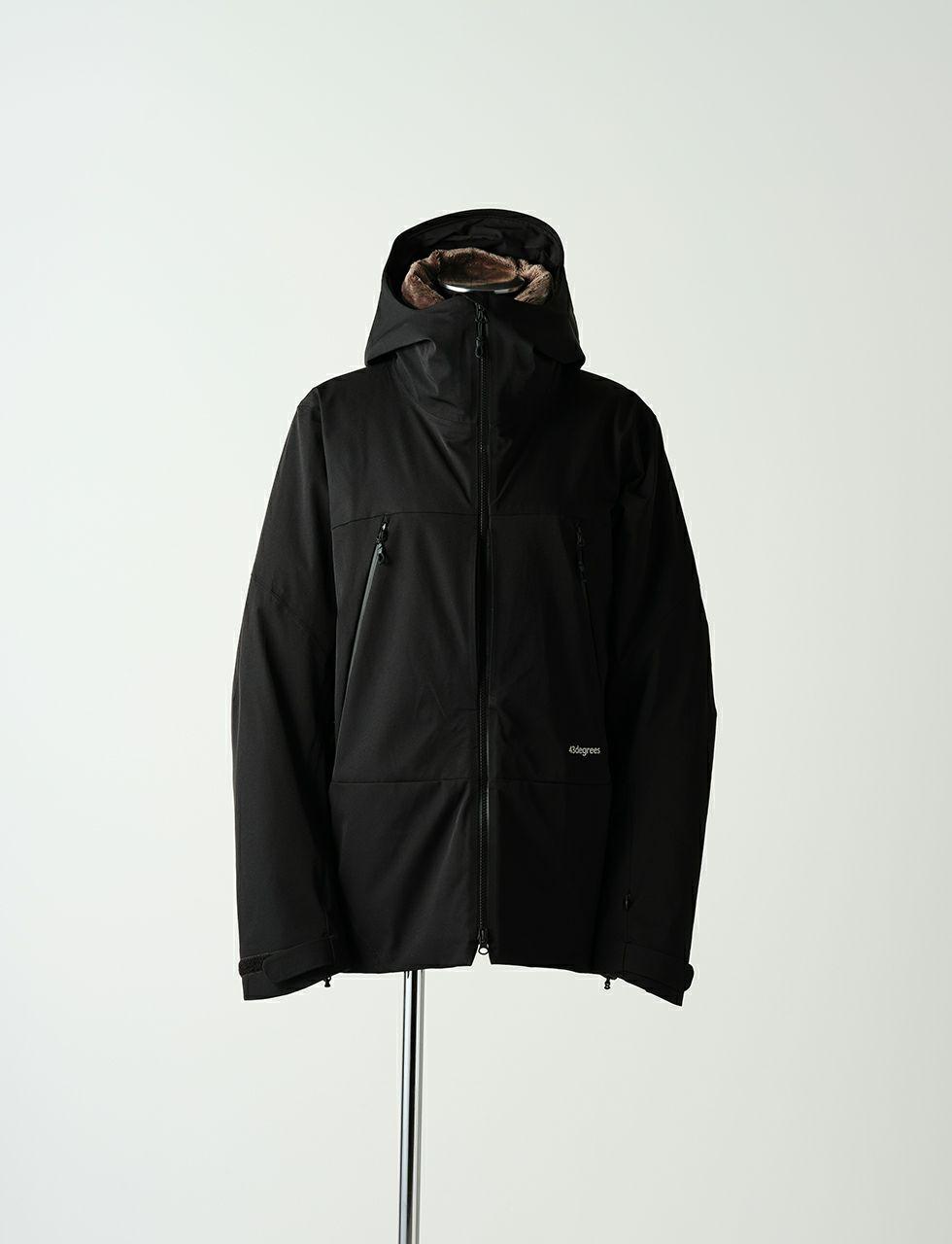 W Padding Peak Jacket